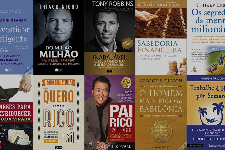 Livros que vão te ajudar a ser financeiramente independente